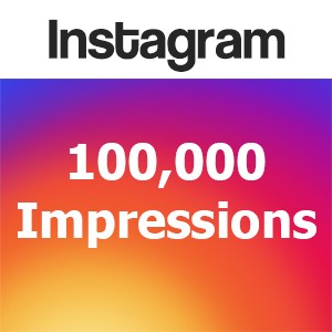 Buy 100000 Instagram Impressions