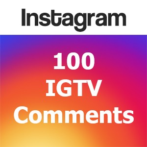 Buy 100 IGTV Comments