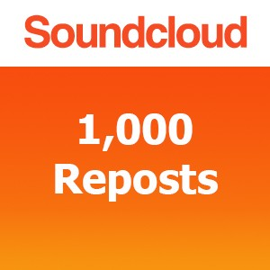 Buy 1000 SoundCloud Reposts