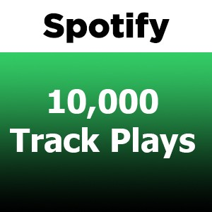 Buy 10000 Spotify Track Plays