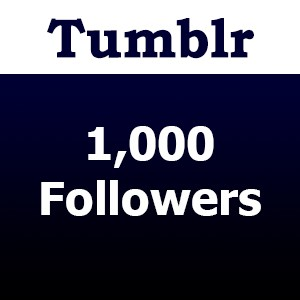 Buy 1000 Tumblr Followers